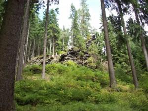 08 Wanderung, Felsen unterwegs