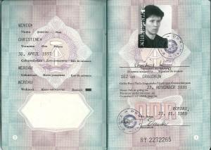 DDR Reisepass